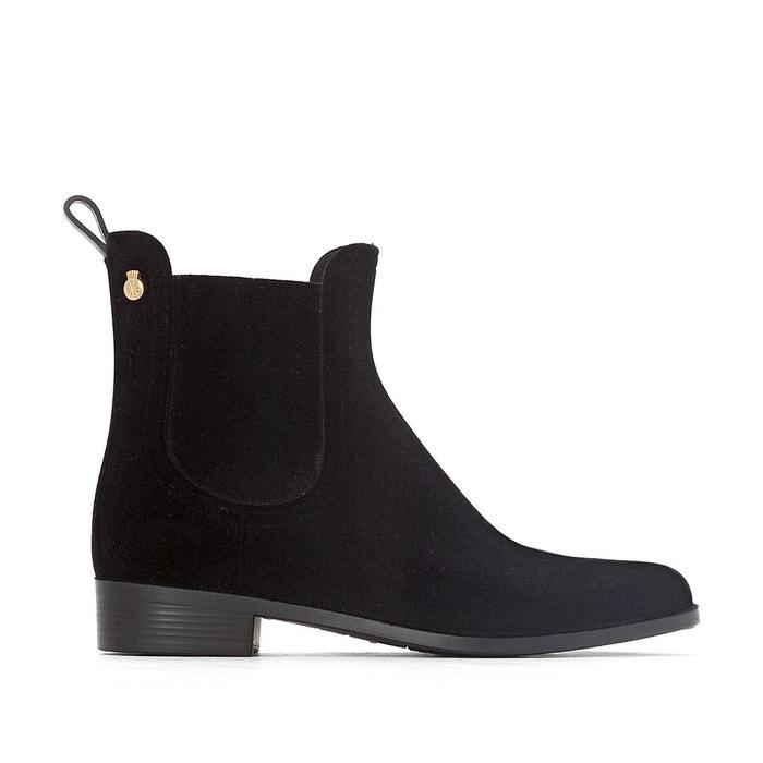 Boots de pluie velvety noir Lemon Jelly Vente Choisir Un Meilleur GjY5xD