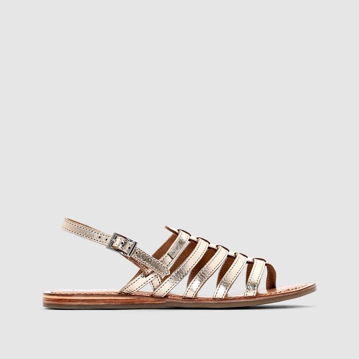 sandales cuir heripo les tropeziennes par m belarbi la redoute. Black Bedroom Furniture Sets. Home Design Ideas
