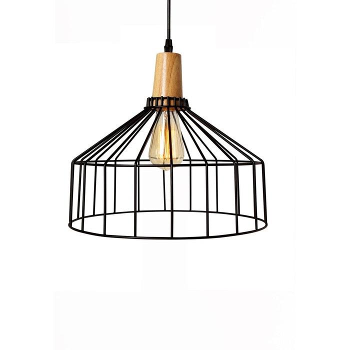 suspension kala noire noir rendez vous deco la redoute. Black Bedroom Furniture Sets. Home Design Ideas