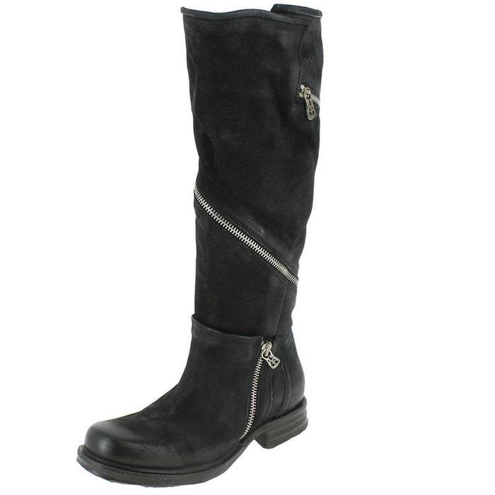 Bottes cuir  noir Airstep As98  La Redoute
