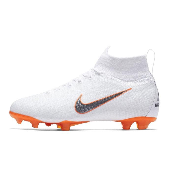 watch af6ad 6f0bf Chaussures football nike mercurial superfly 360 vi elite df fg blanc junior  blanc Nike   La Redoute