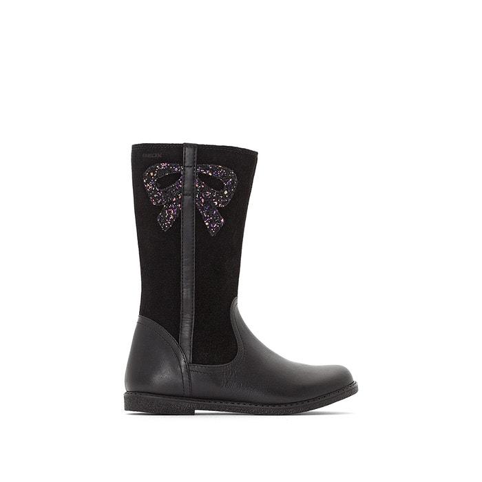 b014c04194a1 J shawntel girl boots black Geox