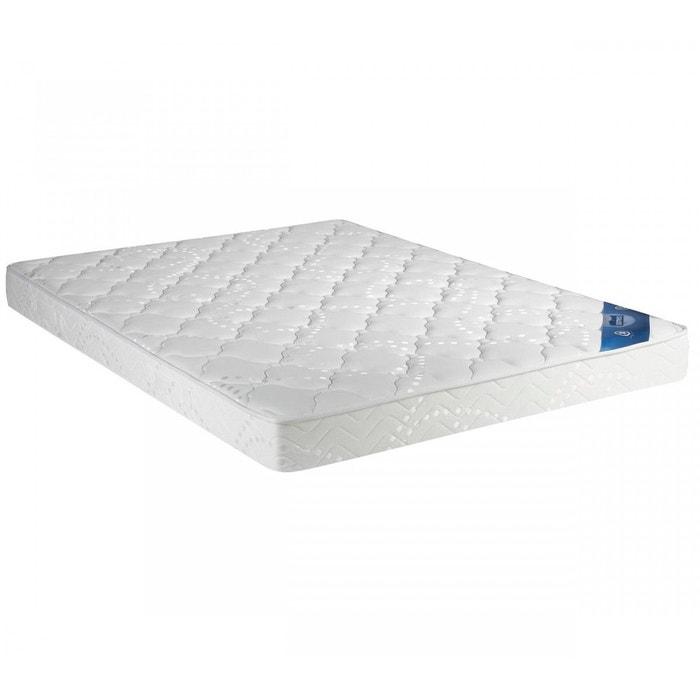 matelas pour lit armoire rabattable 140x190 blanc someo la redoute. Black Bedroom Furniture Sets. Home Design Ideas