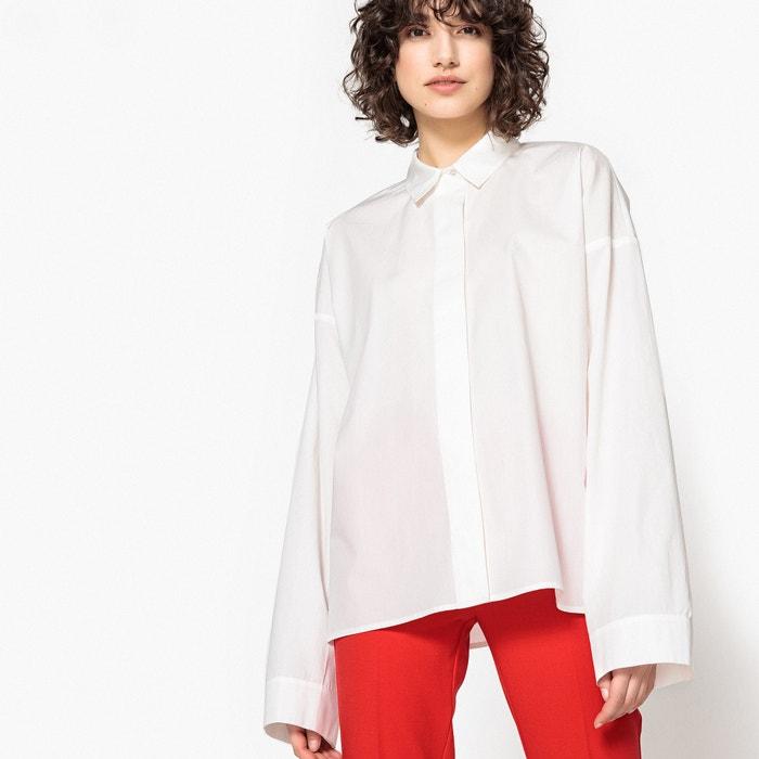 Wijd hemd met lange mouwen  La Redoute Collections image 0