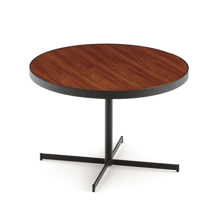 table basse plateau bois rafa noyer la redoute interieurs. Black Bedroom Furniture Sets. Home Design Ideas
