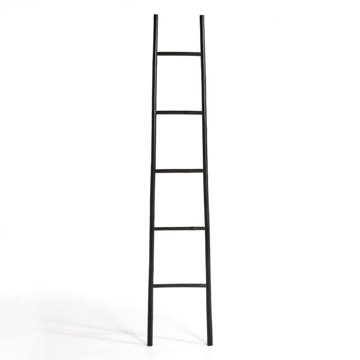 Along Bamboo Ladder Towel Rack