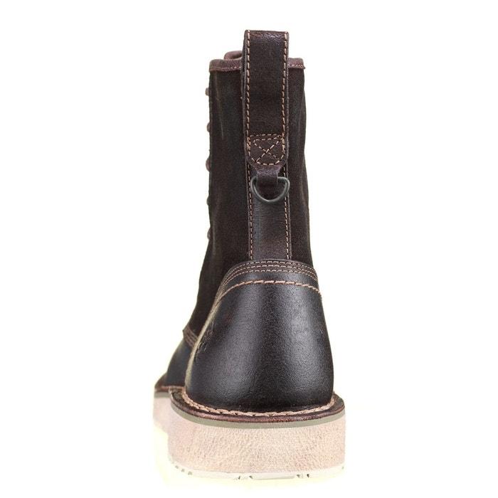 Boots ca17xn marron foncé Timberland
