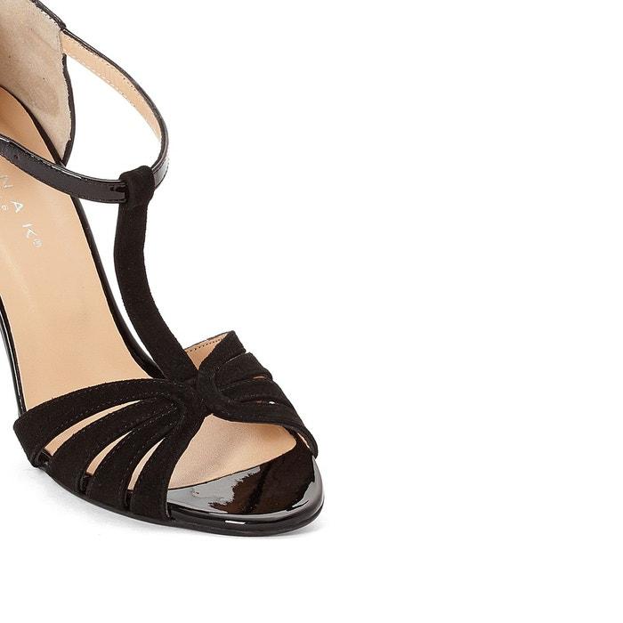Sandales cuir doliate JONAK noir