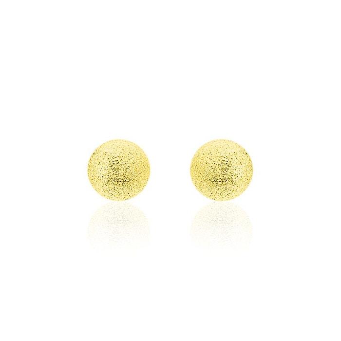Boucles d'oreilles puce or jaune boule jaune Histoire D'or   La Redoute Date De Sortie De Vente Prix Le Plus Bas Pour La Vente QYUA7