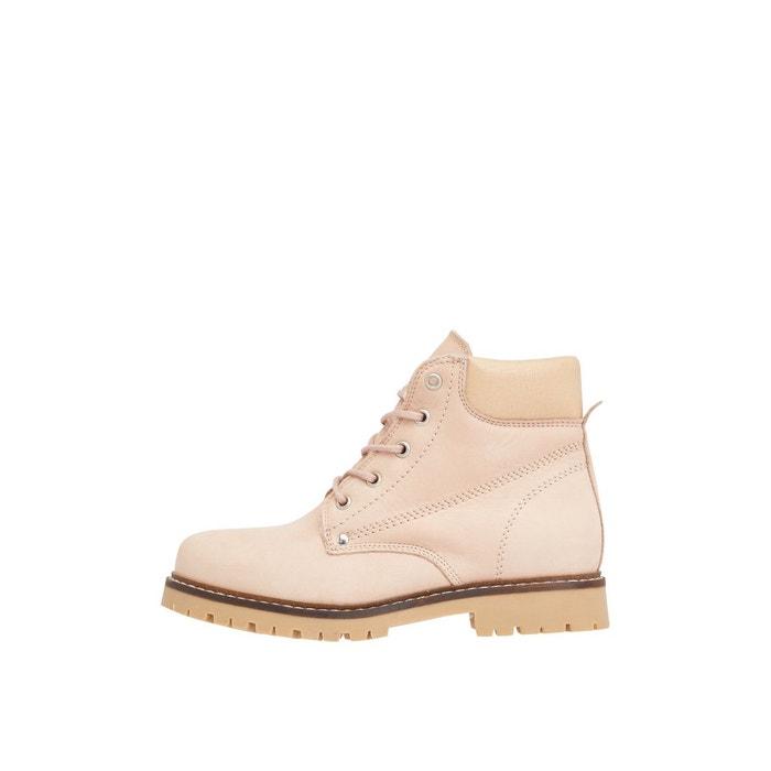 Bottes bottes de travail chaudes rose Bianco