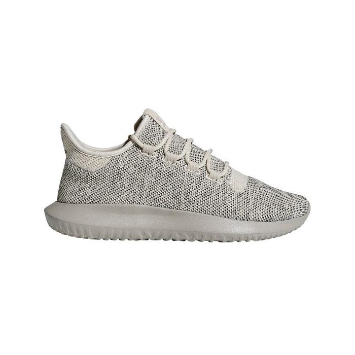 9b67308549 Baskets chaussure tubular shadow knit marron clair-noir Adidas Originals |  La Redoute
