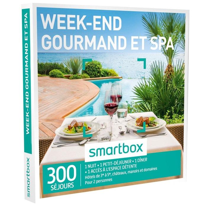 week end gourmand et spa coffret cadeau couleur unique smartbox la redoute. Black Bedroom Furniture Sets. Home Design Ideas
