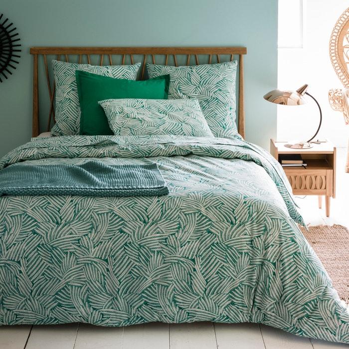 capa de edredon estampada ycata la redoute interieurs la redoute. Black Bedroom Furniture Sets. Home Design Ideas