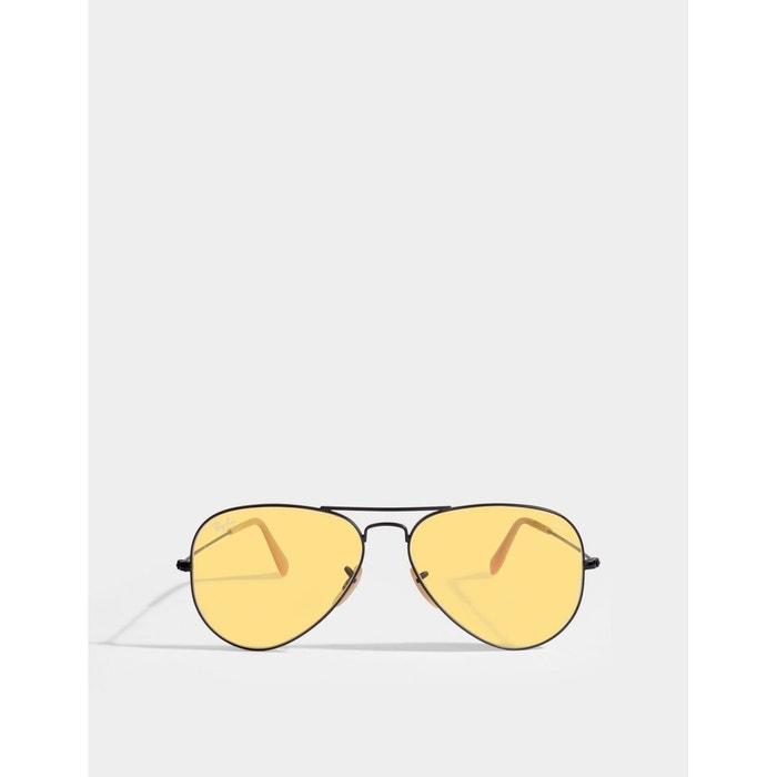 Lunettes de soleil aviator large metal rb3025 jaune Ray-Ban   La Redoute e04cf8df3309