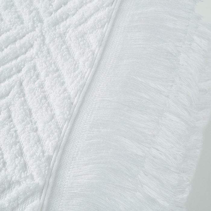 afbeelding Maxi badlaken in badstof met visgraatmotief (450g/m²) La Redoute Interieurs