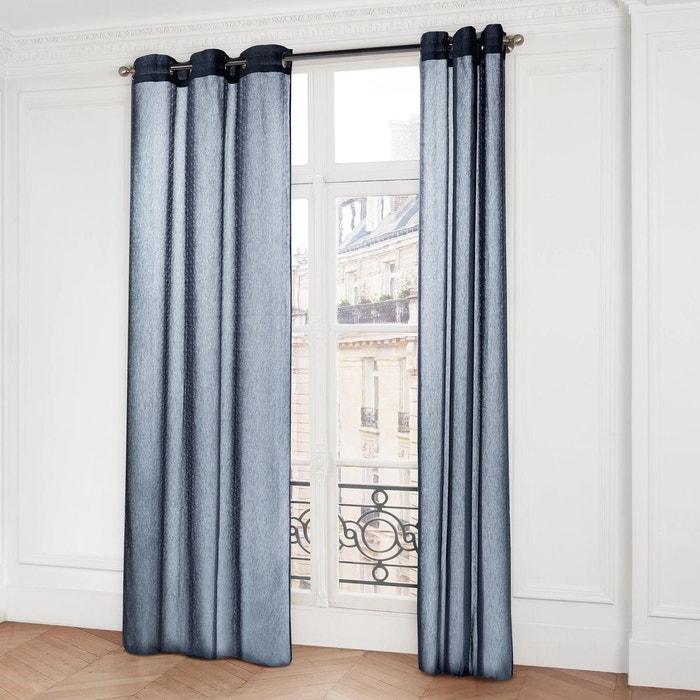 voilage oeillets kagami gris fonc madura la redoute. Black Bedroom Furniture Sets. Home Design Ideas
