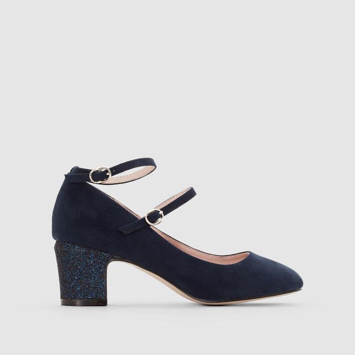 фото Балетки на каблуке с пайетками MADEMOISELLE R