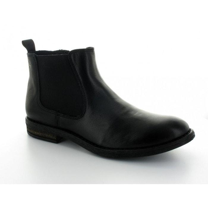Bottine enfant acebo's cuir noir 8034ve negro  noire Acebo's  La Redoute