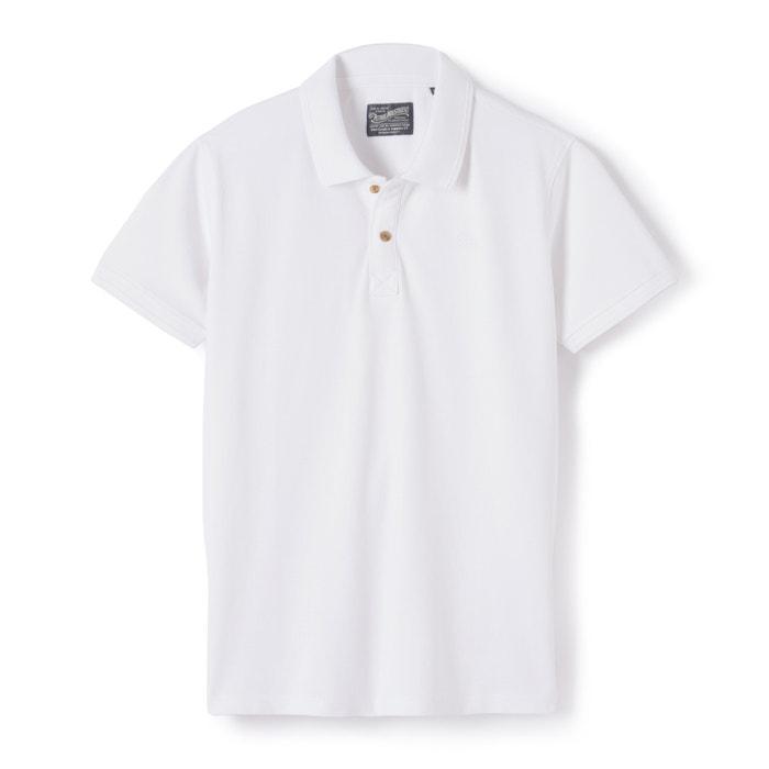 Image Polo avec logo brodé pur coton PETROL INDUSTRIES