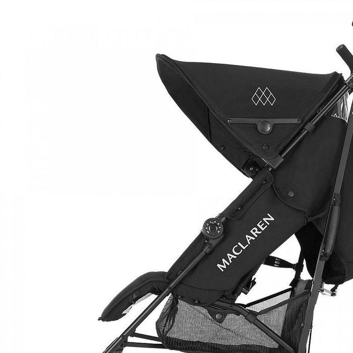 poussette mac laren quest black black exclusive couleur. Black Bedroom Furniture Sets. Home Design Ideas