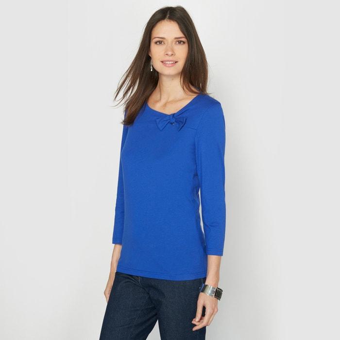 Image T-shirt, coton & modal ANNE WEYBURN