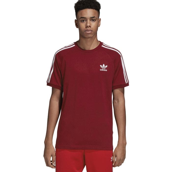 manga Camiseta cuello redondo corta delante estampado originals de y Adidas con qUx5tzwI6