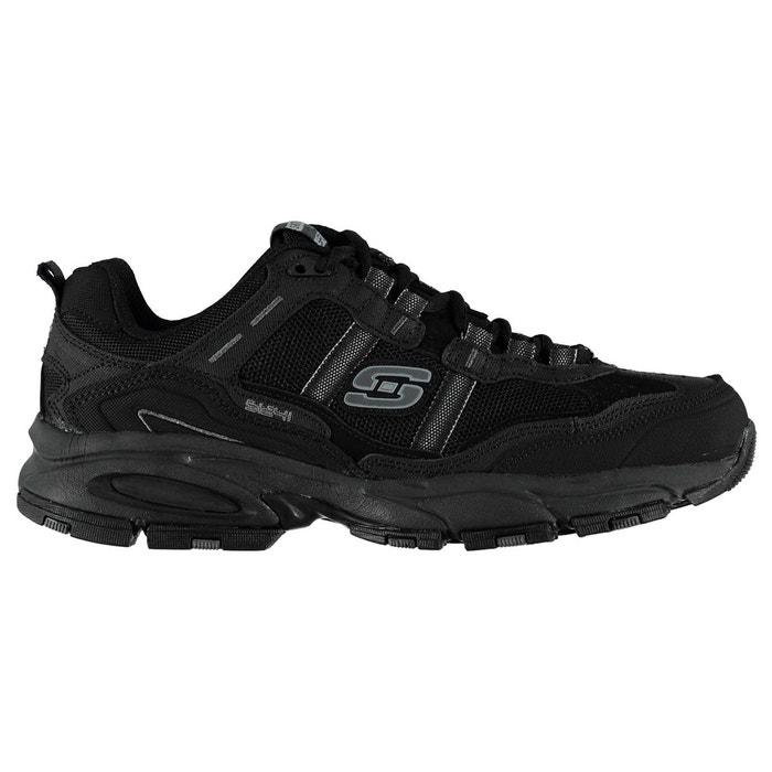 Baskets de running respirantes noir Skechers