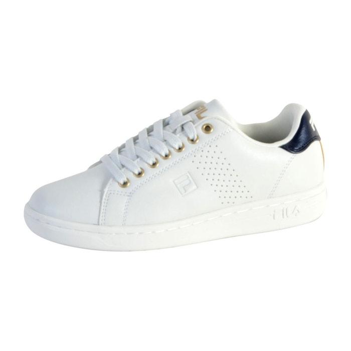 Basket fila crosscourt 2f low wmn white blanc Fila