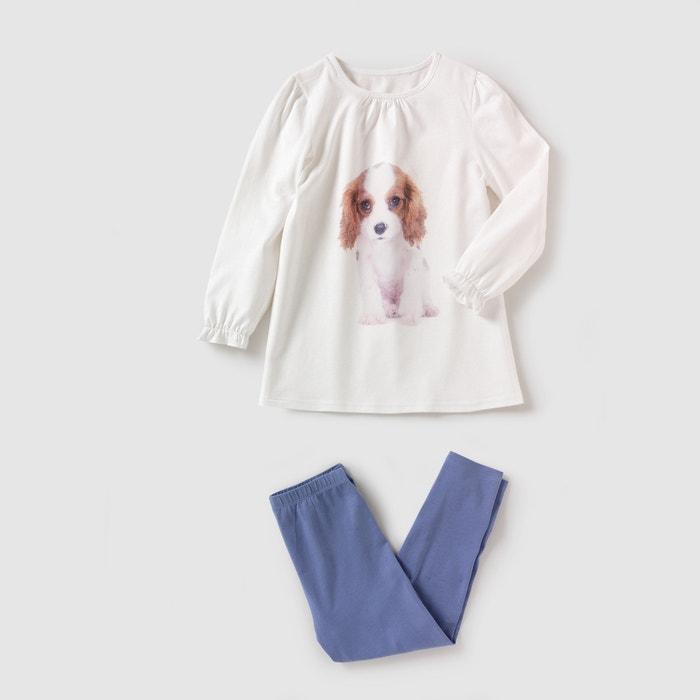 Image Pyjama jersey imprimé chiot 2-12 ans abcd'R