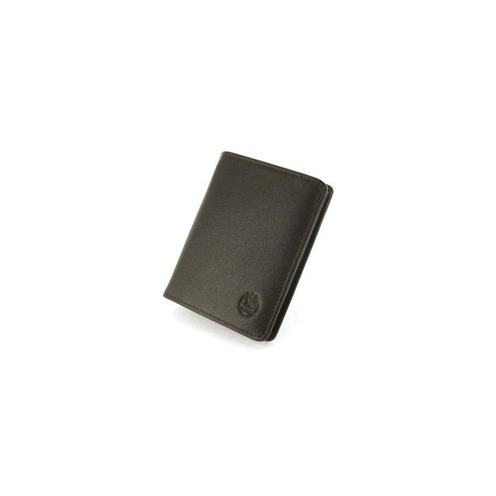 Avec Vente Paypal En Ligne En Ligne Exclusif Portefeuille marron en cuir lisse multicolore L'aiglon | La Redoute Jeu Réel Pas Cher H84xX9
