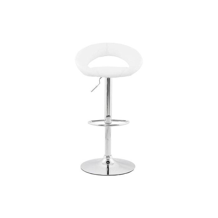 a99a85de671c7c Chaise de bar atlantis kokoon design blanc Kokoon Design   La Redoute