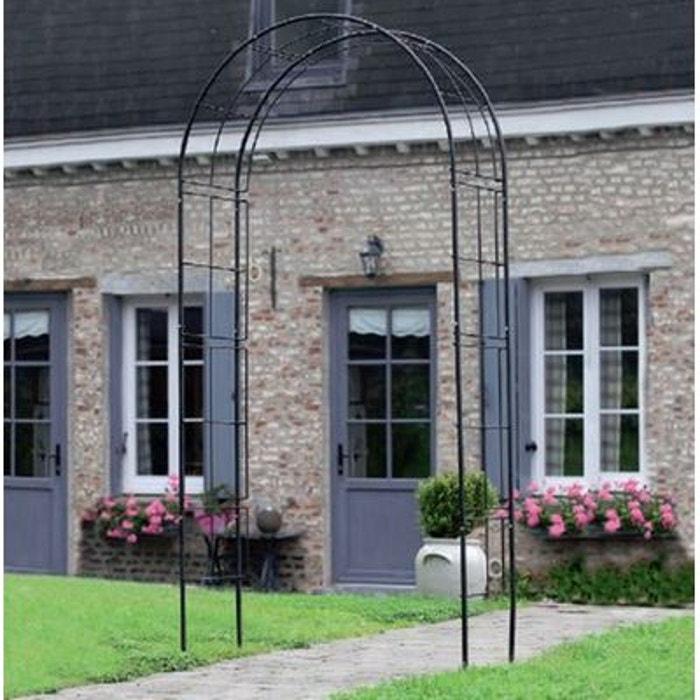 pergola arche en acier couleur unique natur la redoute. Black Bedroom Furniture Sets. Home Design Ideas
