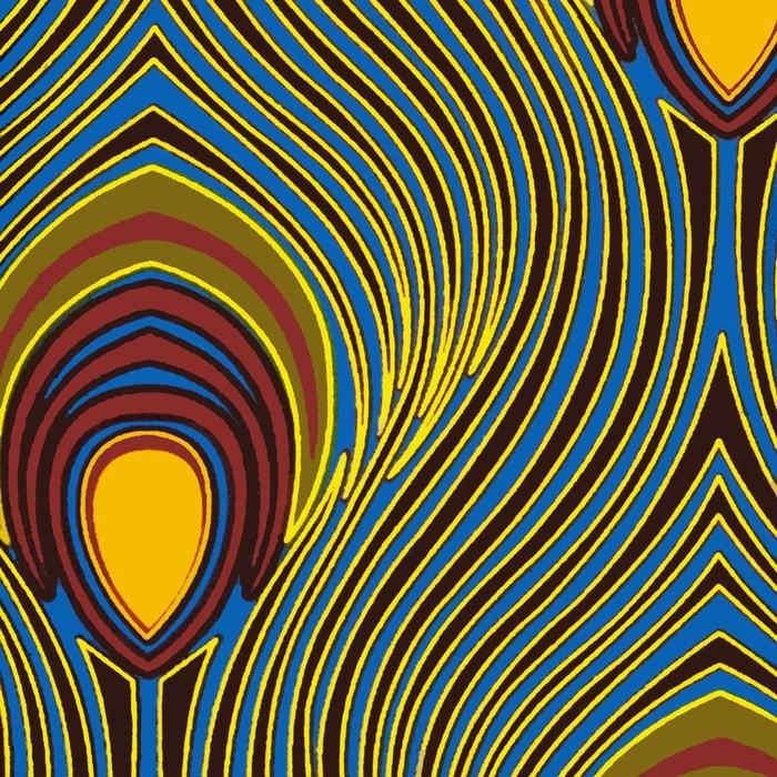 Espadrilles imprimées wax made in france multicolore La Brousse   La Redoute cec14a08c1c3