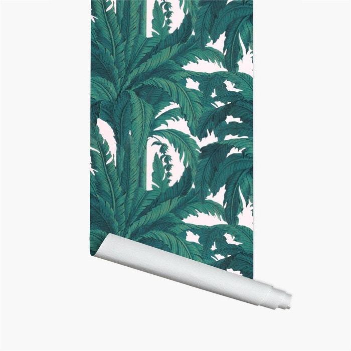 Papier Peint Musa Rose 10ml Vert Papermint La Redoute