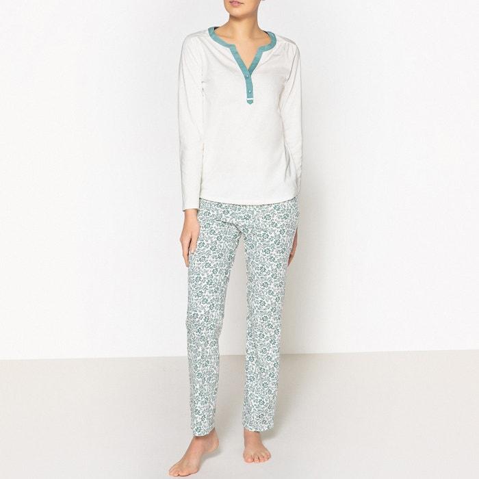 Pijama em puro algodão  La Redoute Collections image 0