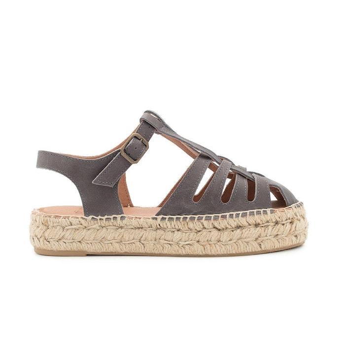 Pas Cher Avec Une Carte De Crédit Sandale anita gris Polka Shoes Footaction Sortie Express Rapide 2018 Nouveau Prix Pas Cher qRL36ko