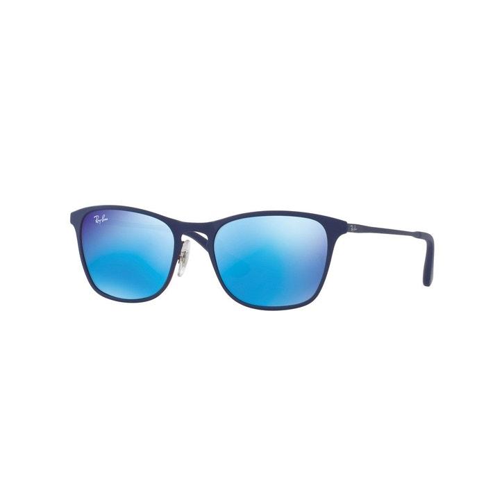 3923ab45703f63 Lunettes de soleil enfant rj9539s bleu Ray-Ban Junior   La Redoute