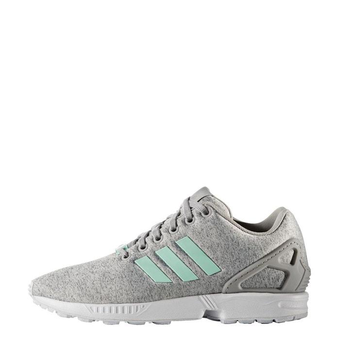 Chaussure zx flux gris Adidas Originals   La Redoute c52dfd139eb6
