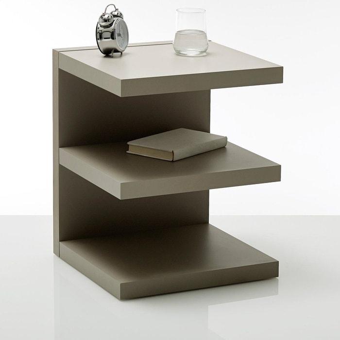 chevet forme e ylex marron taupe la redoute interieurs la redoute. Black Bedroom Furniture Sets. Home Design Ideas