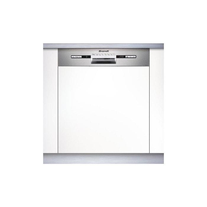 brandt vh1772x lave vaisselle encastrable 12 couverts 47 db a l 59 8cm gris brandt. Black Bedroom Furniture Sets. Home Design Ideas