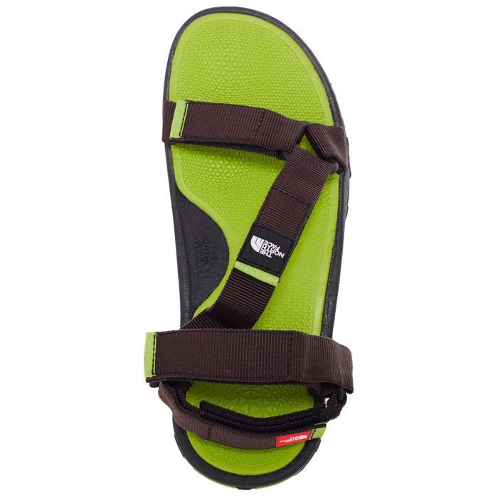Litewave - sandales homme - vert/noir noir The North Face