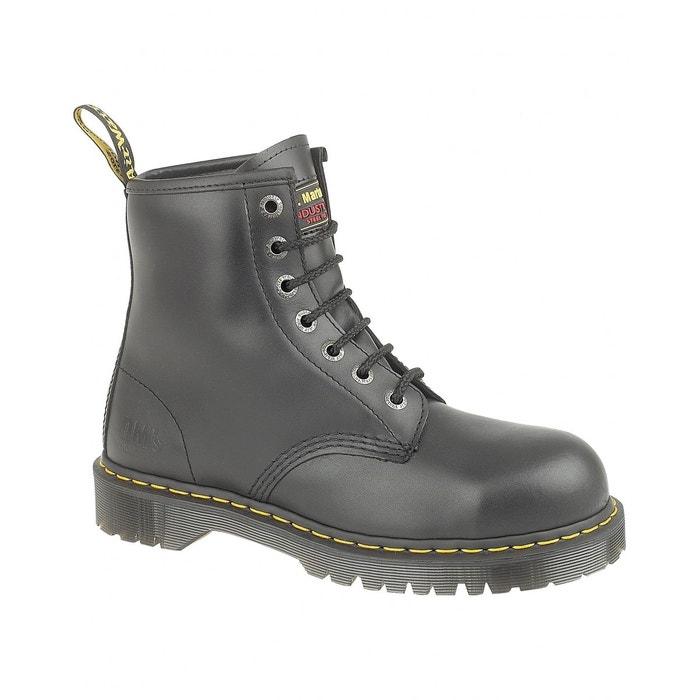 De Fs64 Sécurité Femme Montantes Noir Dr Martens Chaussures n6BqxI5