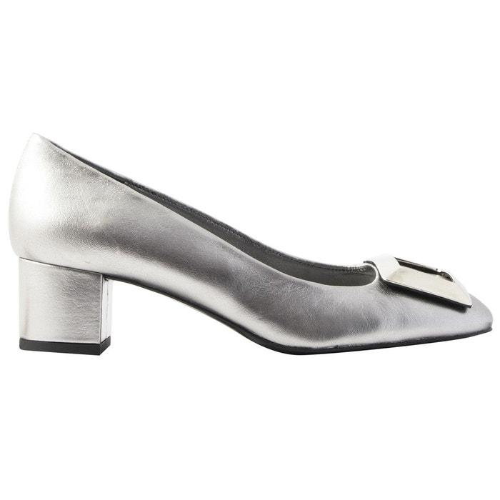 Vente Acheter Chaussures à talons agathe gris Exclusif Paris Magasin De Jeu Pas Cher En Ligne 5PUd96hjom