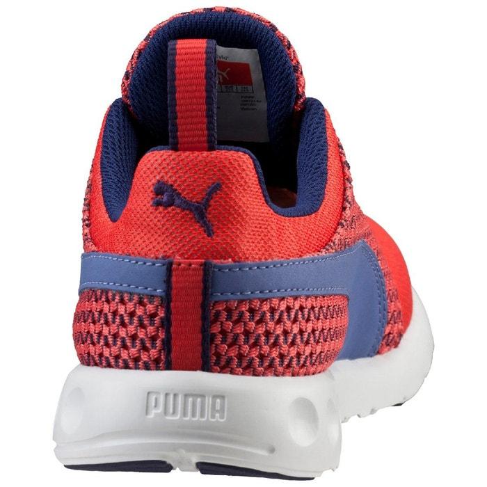 Baskets basses à lacets carson runner knit wns rouge Puma