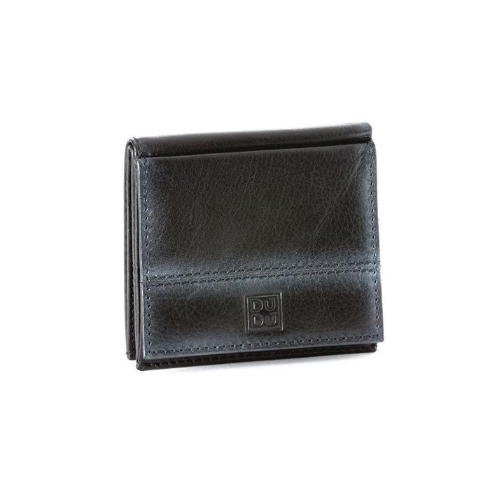 a05a35cc6689 Portefeuille pour homme en cuir avec porte-monnaie extérieur et  porte-cartes de crédit Dudu   La Redoute