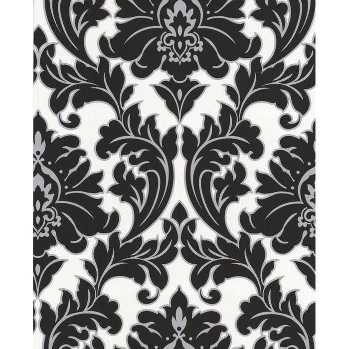 papier peint design majestic noir blanc atylia la redoute. Black Bedroom Furniture Sets. Home Design Ideas