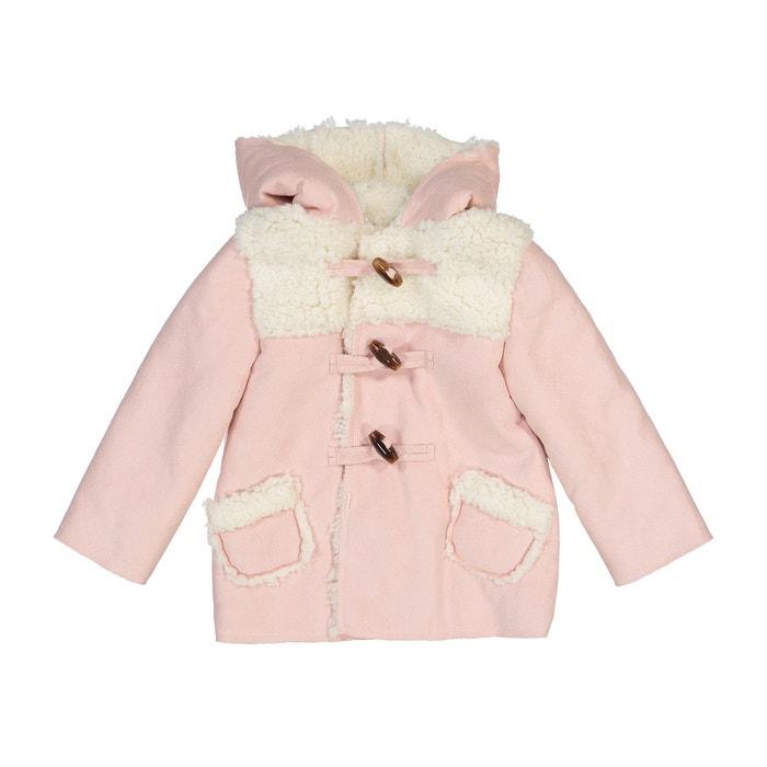 Пальто на подкладке из искусственного меха, 3 мес. - 3 года  La Redoute Collections image 0