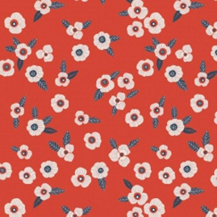 tissu atelier brunette garance rouge la mercerie. Black Bedroom Furniture Sets. Home Design Ideas