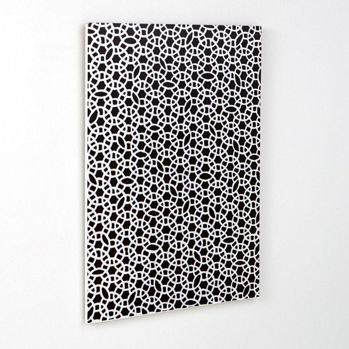 Panneau mural d coratif acilia noir blanc la redoute interieurs la redoute - Panneau japonais la redoute ...