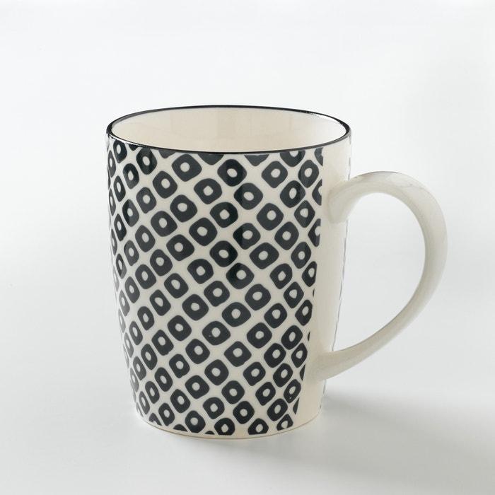 Imagen de Lote de 4 tazas de porcelana, AKIVA La Redoute Interieurs